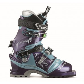 Scarpa T2 Eco Wmn Bourgogne/Polarblue-20