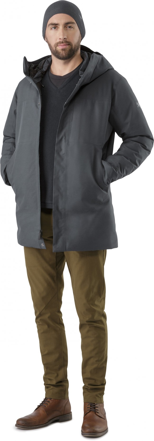 f3d159e0590 Arcteryx Therme Parka Men's Nighthawk - en