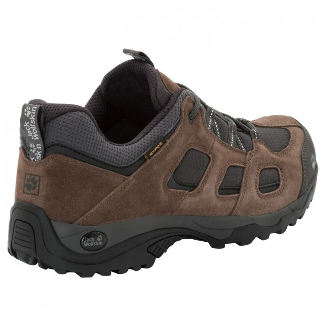 bc3d7db0e8c43e Jack Wolfskin Vojo Hike 2 Texapore Low M dark wood - en