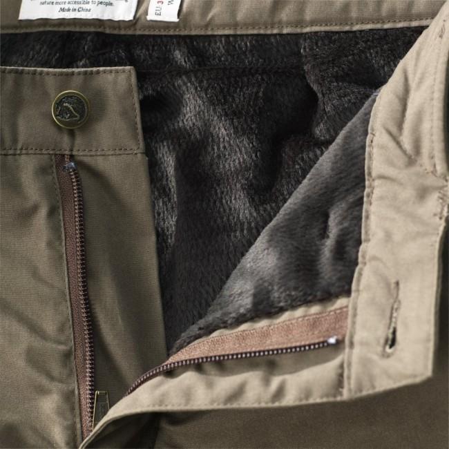 Genieße den kostenlosen Versand berühmte Designermarke Los Angeles FjallRaven Brenner Pro Winter Trousers W Taupe - en