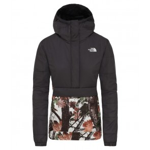 The North Face Women's Insulated Fanorak Jacket TNF BLACK/STRIDER PRINT-20