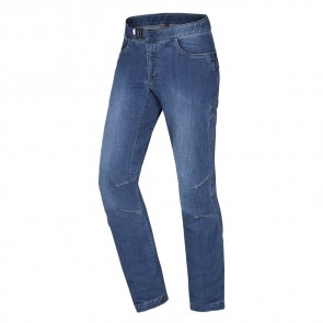 Ocun Mens Hurrikan Jeans Middle blue-20