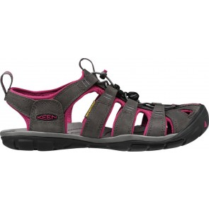 Keen Clearwater Cnx Leather W Magnet/Sangria-20
