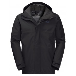 Jack Wolfskin Seven Peaks Jacket Men M black-20