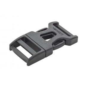 VAUDE Steckschnalle 20 mm Single Adjust black-20