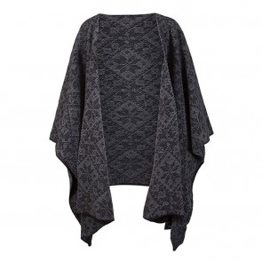 Dale of Norway Rose Shawl Black / Smoke-20