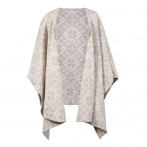 Dale of Norway Rose Shawl Beige mel. / Off white-20