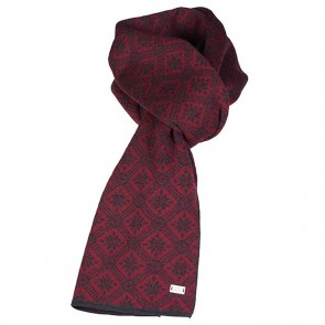 Dale of Norway Christiania Scarf Ruby mel/ dark charcoal-20