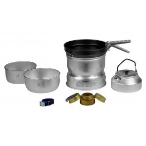 Trangia Storm Cooker 25-4 UL Large with Non-Stick Frypan with Kettel-20