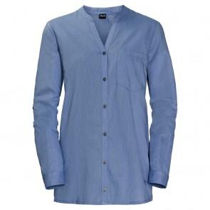 Jack Wolfskin Indian Springs Shirt Women dusk blue stripes-20