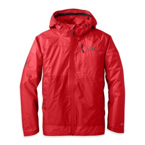 Outdoor Research OR Men's Helium HD Jacket hot sauce-20