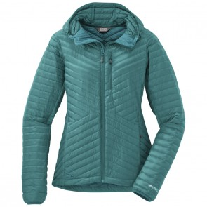 Outdoor Research OR Women's Verismo Hooded Down Jacket atlantis-20