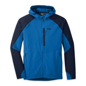 Outdoor Research OR Men's Ferrosi Hooded Jacket glacier/night-20