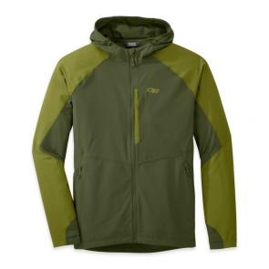 Outdoor Research OR Men's Ferrosi Hooded Jacket kale/hops-20