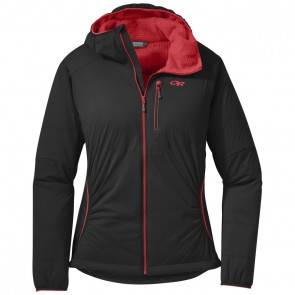 Outdoor Research OR Women's Ascendant Hoody black/flame-20