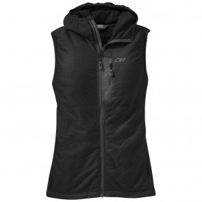 Outdoor Research Women's DeviatHooded Vest black-20
