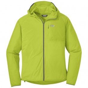 Outdoor Research Men's Tantrum II Hooded Jacket lemongrass/charcoal-20