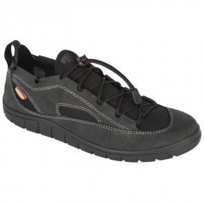 Lizard Shoe Fin II Leather carbon black-20