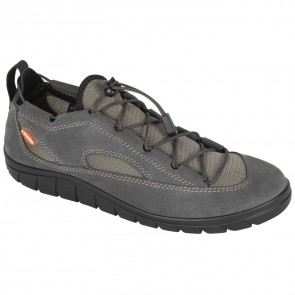 Lizard Shoe Fin II Leather smoke grey-20