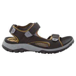 Jack Wolfskin Rocky Path Sandal M black / burly yellow XT-20