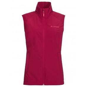 VAUDE Women's Hurricane Vest III crimson red-20