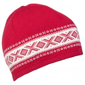 Dale of Norway Cortina Merino hat Raspberry / Off white-20