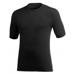 Woolpower Tee 200 Black-20