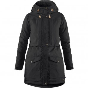 FjallRaven Singi Wool Padded Parka W Black-20