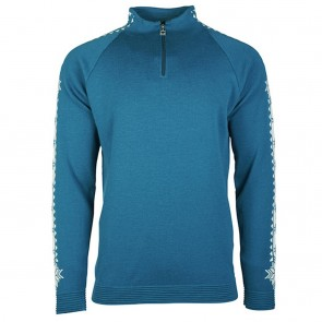 Dale of Norway Geilo Masc Sweater Artic blue/ off white-20