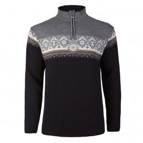 Dale of Norway Moritz Masc Sweater Black / Orange Peel / Off white / Smoke-20