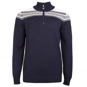 Dale of Norway Cortina Merino Masc Sweater Navy / off white-20