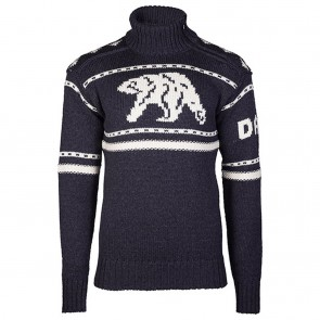 Dale of Norway Isbjørn Uni Sweater Dusty Navy / Off white-20