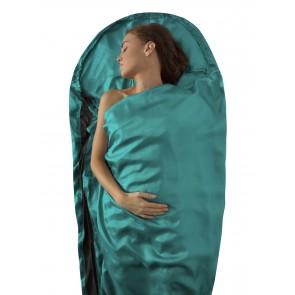 Sea To Summit Silk Stretch Liner Mummy with Hood & Box foot Sea Foam-20