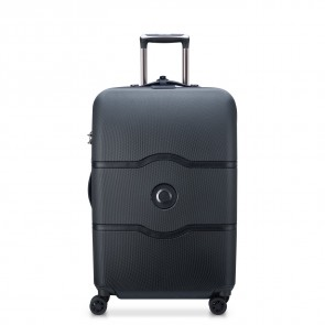 Delsey Chatelet Air 4 Double Wheels Trolley 67 CM Black-20
