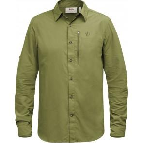 FjallRaven Abisko Hike Shirt LS Meadow Green-20