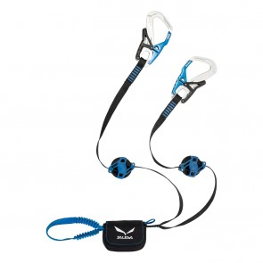 Salewa Set Via Ferrata Ergo Zip SILVER/ ROYAL BLUE-20