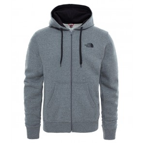 The North Face Men's Open Gate Hoodie TNFMDMGRYHTR(STD)/TNFBLCK-20