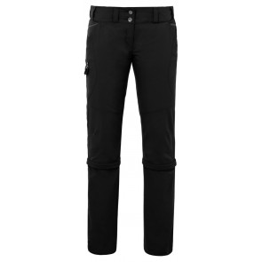 VAUDE Women's Skomer Capri ZO Pants black-20