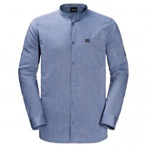 Jack Wolfskin Indian Springs Shirt Men dusk blue stripes-20