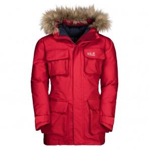 Jack Wolfskin Ice Explorer Jacket Kids red lacquer-20
