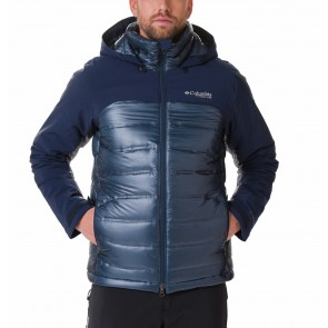 Columbia Heatzone 1000 Turbodown II Jacket M Collegiate Navy-20