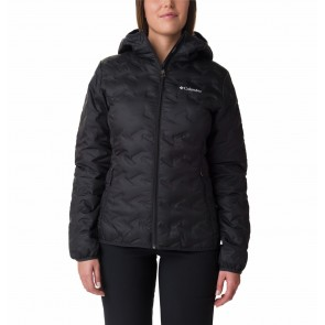 Columbia Delta Ridge Down Hooded Jacket Black-20