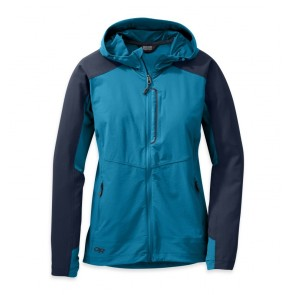 Outdoor Research OR Women's Ferrosi Hooded Jacket oasis/night-20