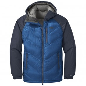 Outdoor Research Men's Alpine Down Hooded Jacket cobalt/naval blue-20