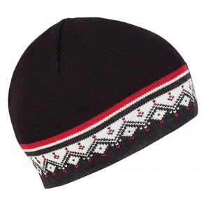 Dale of Norway Moritz Hat Dark charcoal / Raspberry / Off white / Black-20