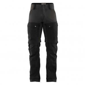 FjallRaven Keb Gaiter Trousers M Black-Stone Grey-20