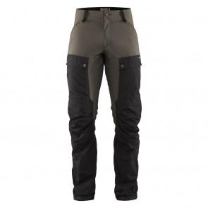 FjallRaven Keb Trousers M Long 52 Black-Stone Grey-20