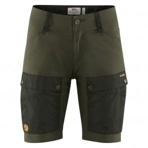 FjallRaven Keb Shorts W Deep Forest-Laurel Green-20