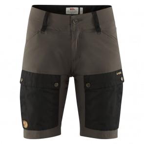 FjallRaven Keb Shorts W Black-Stone Grey-20