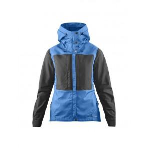 FjallRaven Keb Jacket W UN Blue-Stone Grey-20